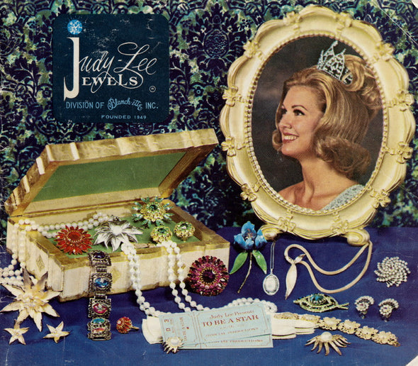 Vintage Judy Lee 1968 Jewelry Product Catalog PDF instant download - Late Boomer Vintage