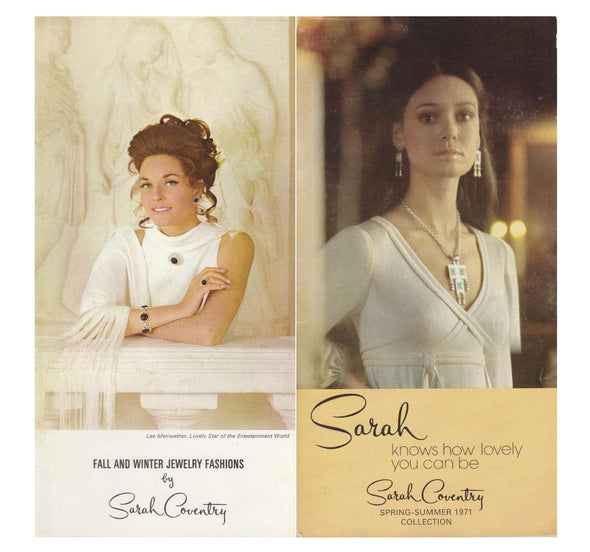 Vintage Sarah Coventry 1970 and 1971 Product Catalog PDF instant download jewelry reference - Late Boomer Vintage