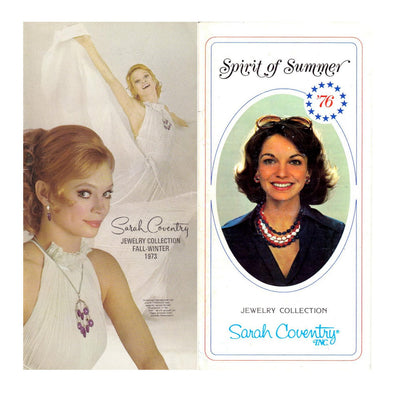 Vintage Sarah Coventry 1973 and 1976 Product Catalog PDF instant download jewelry reference - Late Boomer Vintage