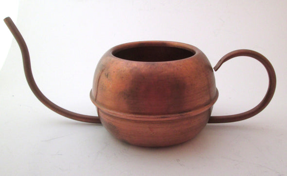 Vintage Copper Watering Can indoor gardening boho decor gardening gift plant care