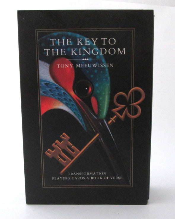 The Key to the Kingdom Playing Cards and Book of Verse Tony Meeuwissen Vintage 2005 - Late Boomer Vintage