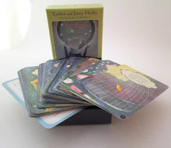 Getting into the Vortex 60 card by Esther and Jerry Hicks oracle deck - Late Boomer Vintage