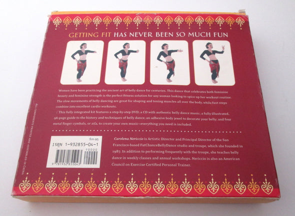 The Art of Belly Dance DVD CD Book Cymbals boxed set fitness Carolena Nericcio Vintage 2004 - Late Boomer Vintage
