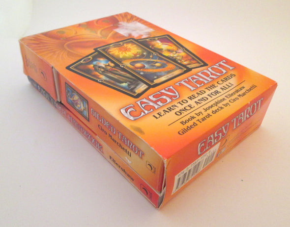 Easy Tarot 78 Card Deck and Book Set Vintage 2007 Ellershaw Marchetti