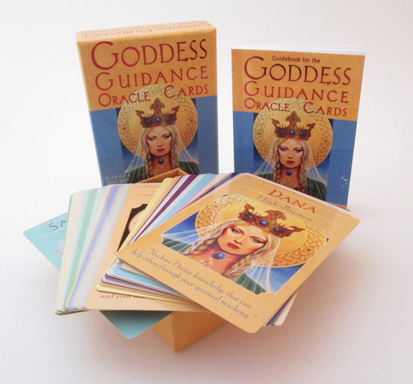 Goddess Guidance Oracle Cards by Doreen Virtue 44 card deck with guidebook - Late Boomer Vintage