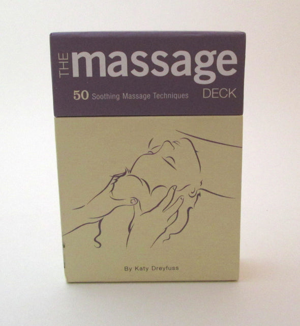 The Massage Deck 50 Soothing Massage Techniques by Katy Dreyfuss - Late Boomer Vintage