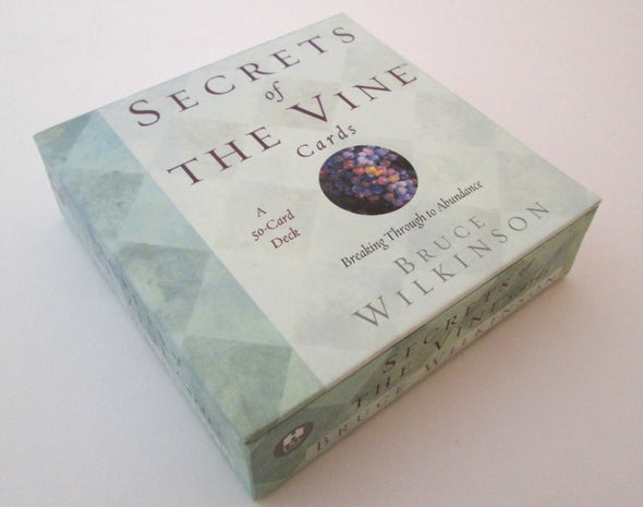 Secrets of The Vine 50 Card oracle deck by Bruce Wilkinson - Late Boomer Vintage