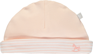 2 Pack Soft Jersey Hats - pink
