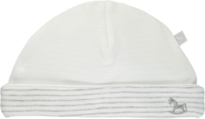 2 Pack Soft Jersey Hats - white