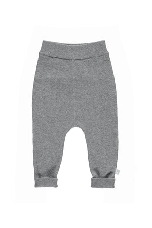 Charcoal Cotton Cashmere Mix Pant