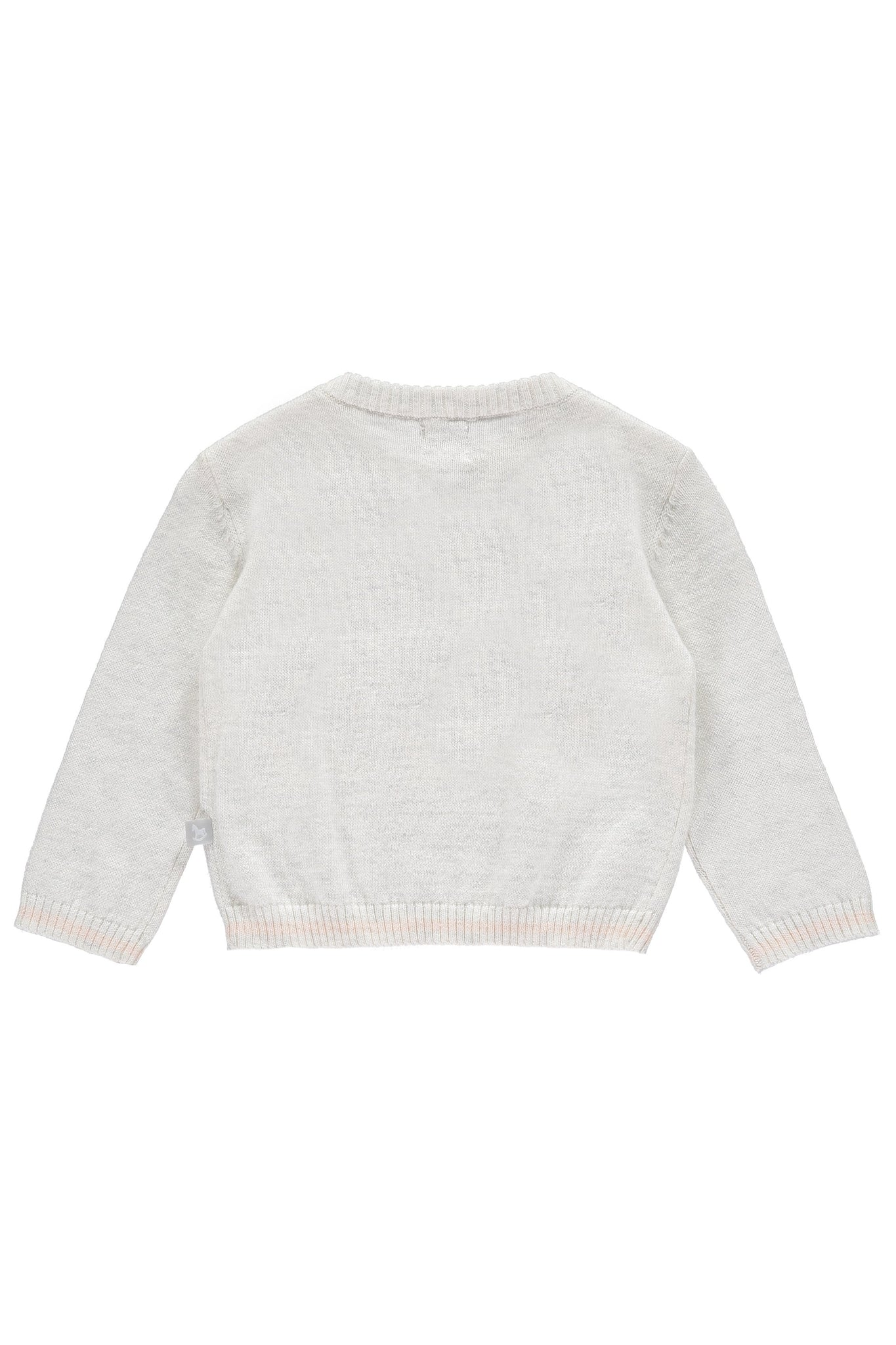 Soft Grey Rocking Horse Jumper