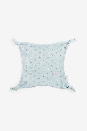 Super Soft Rocking Horse Comforter - blue