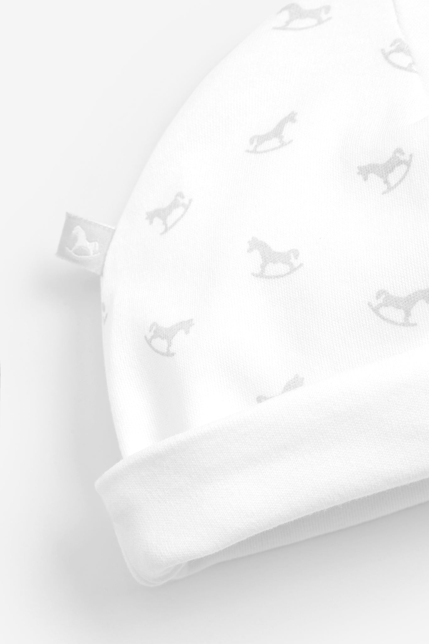 Rocking Horse Hat - white