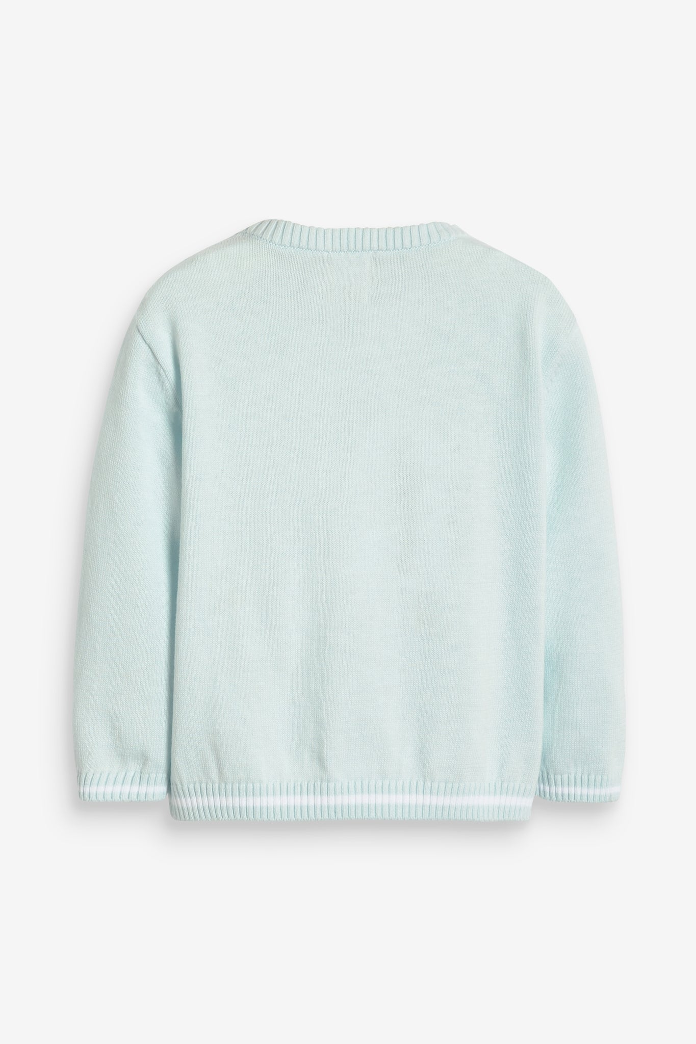 Blue Cotton Rocking Horse Jumper