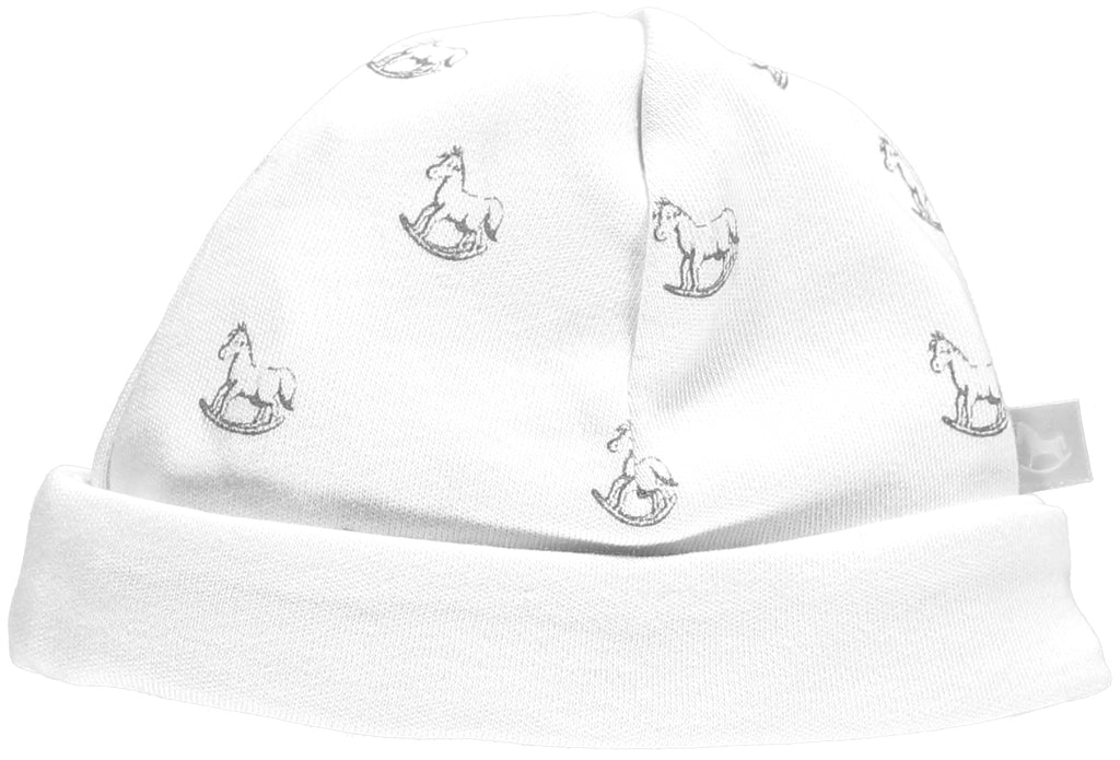 White Rocking Horse Jersey Hat