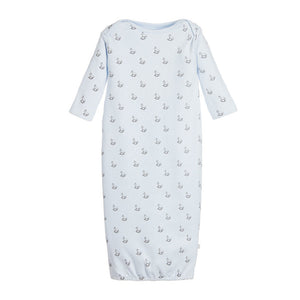 Blue Rocking Horse Jersey Long Nightie