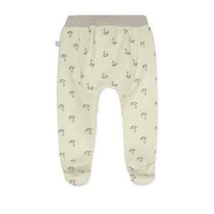 Cream Rocking horse Print Bottoms