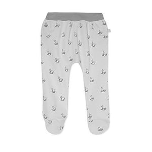 White Rocking Horse Print Bottoms
