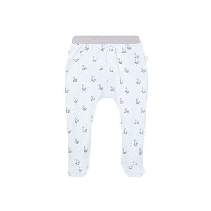 Blue Rocking horse Print Bottoms