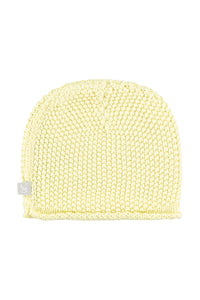 Lemon Cotton Knitted Hat
