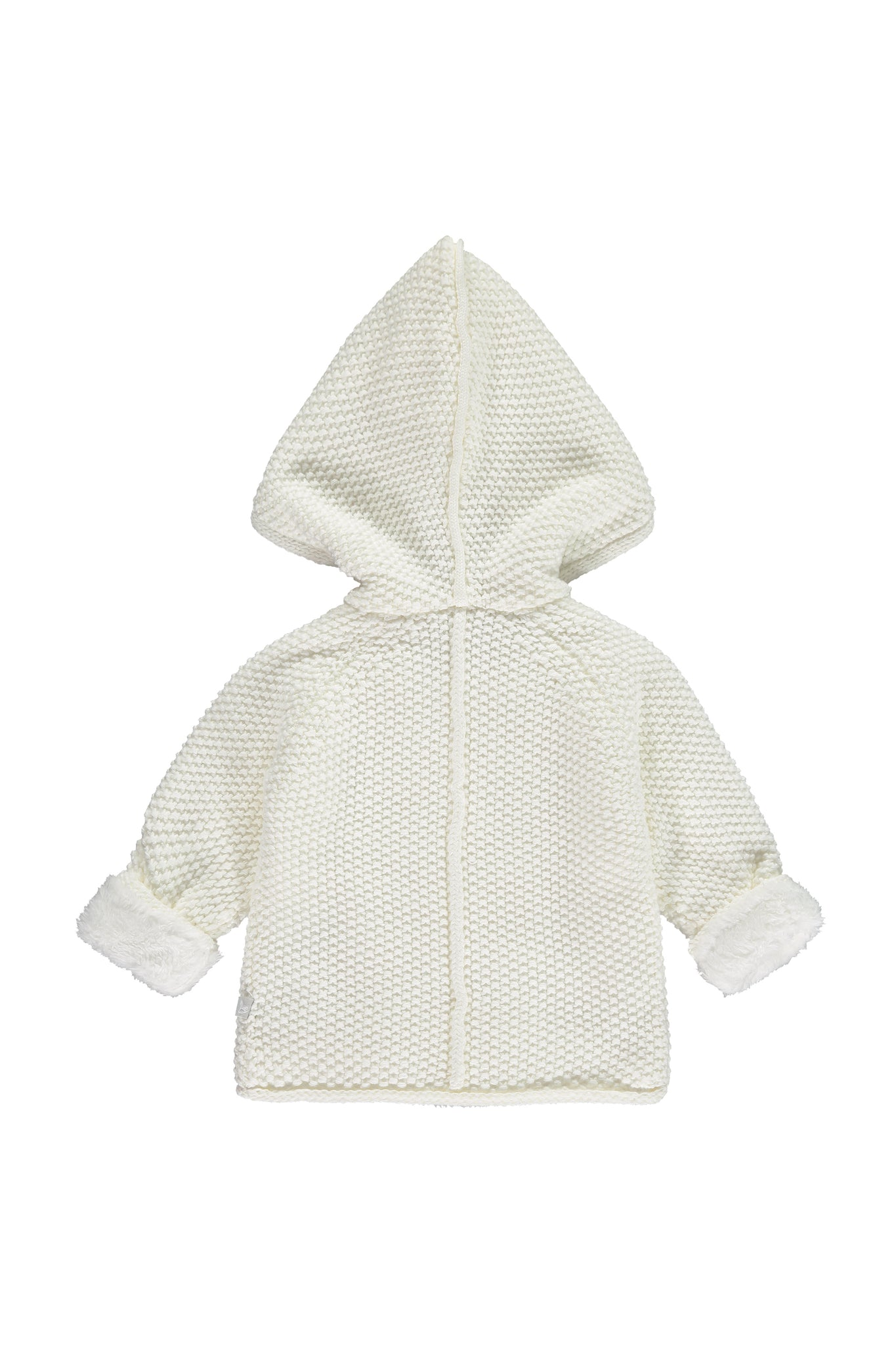 Cream Pram Coat Plush Lined