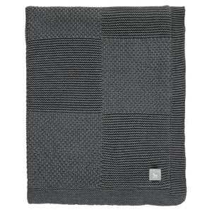 Charcoal Large  Plush Lined Shawl/Blanket