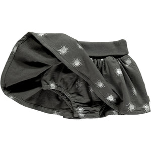 Baby Girls Skirt with Knicker - Charcoal