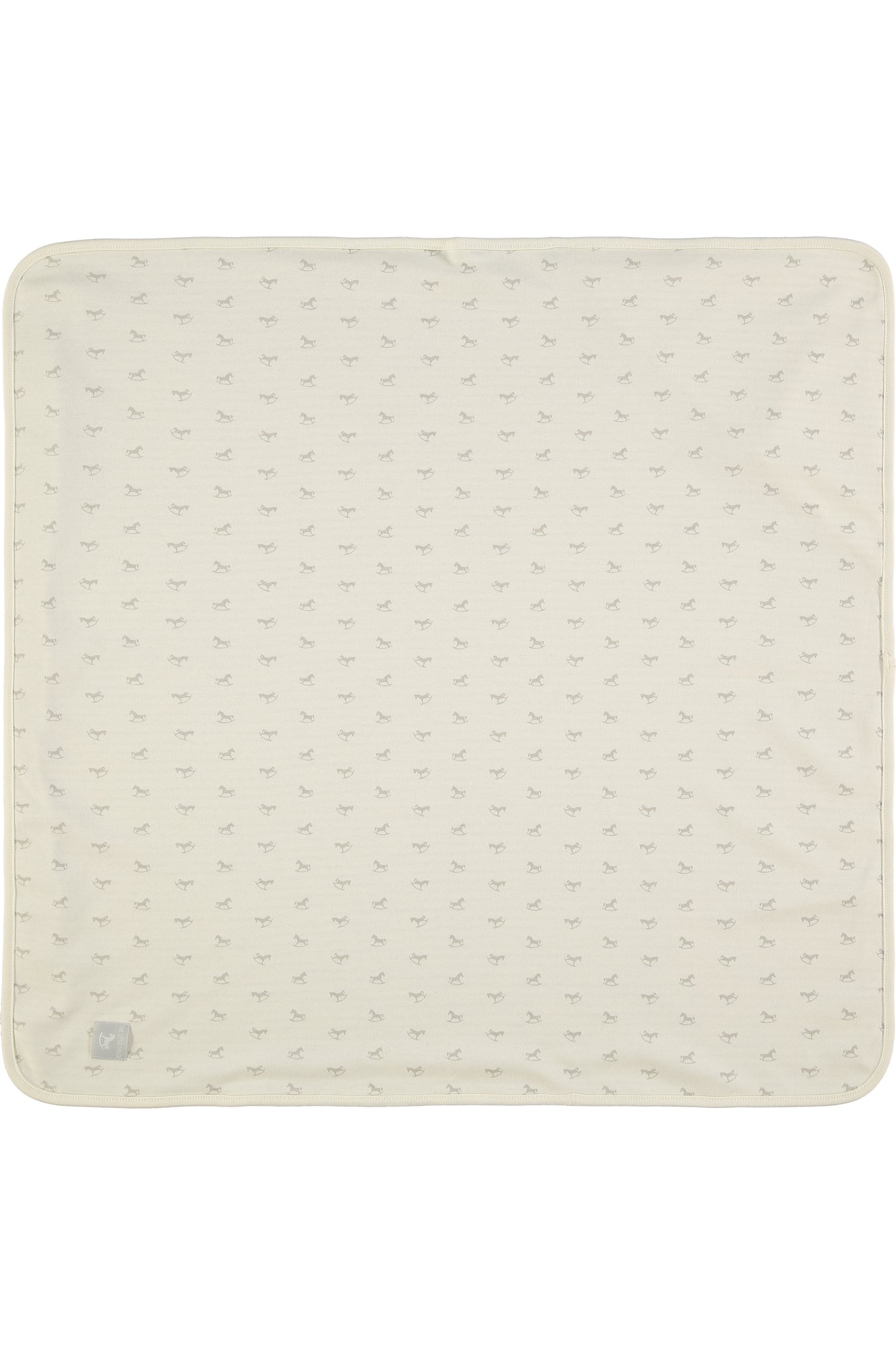 Reversible Soft Jersey Blanket - cream