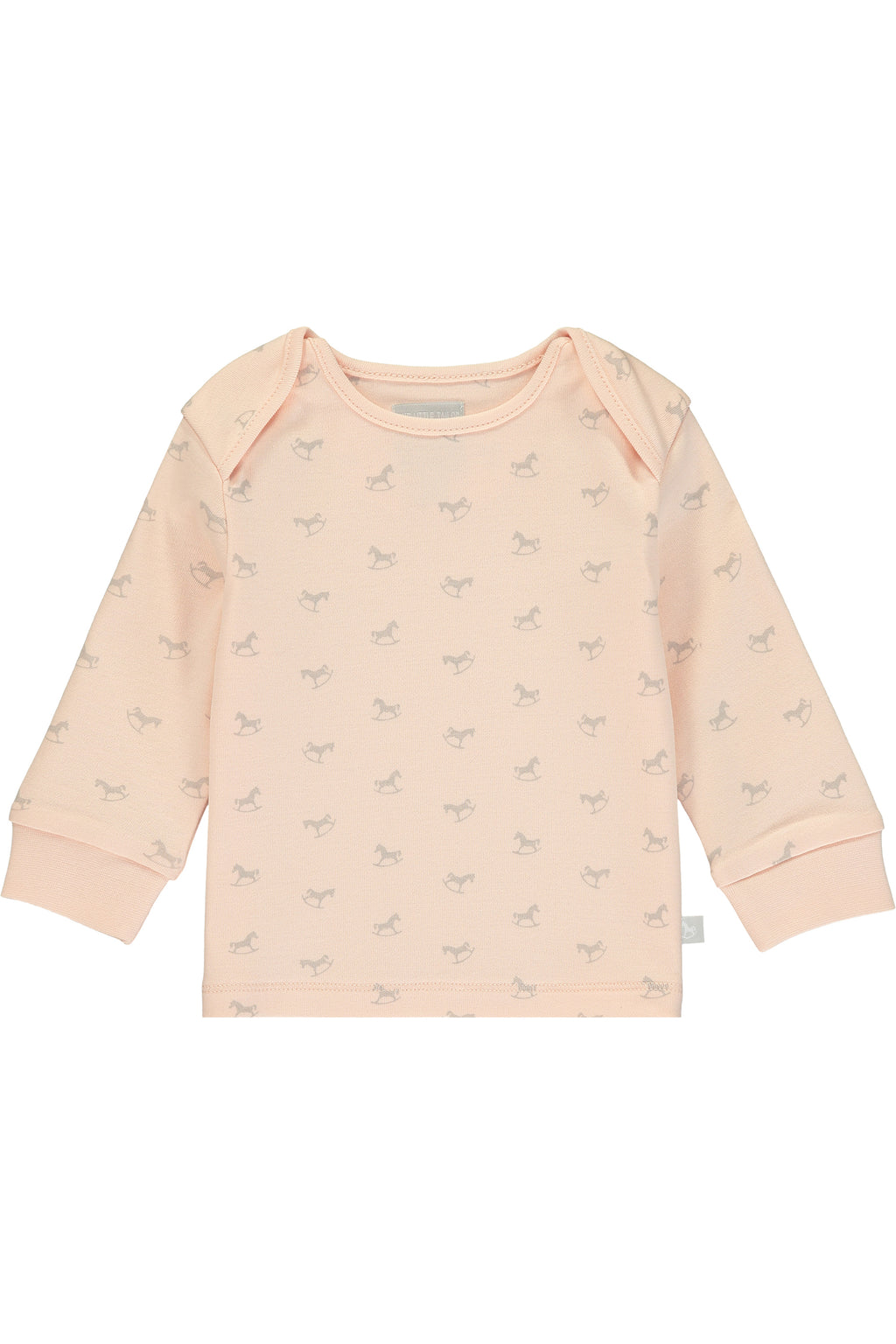 Super Soft Jersey Rocking Horse Top - pink