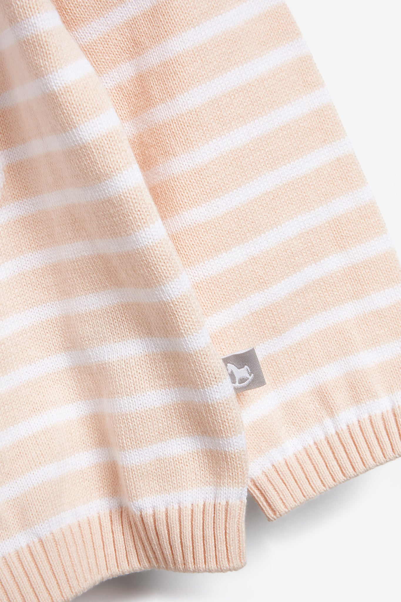 Pink Stripe Baby Knit Jumper