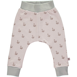 Pink Cotton Comfy Pants