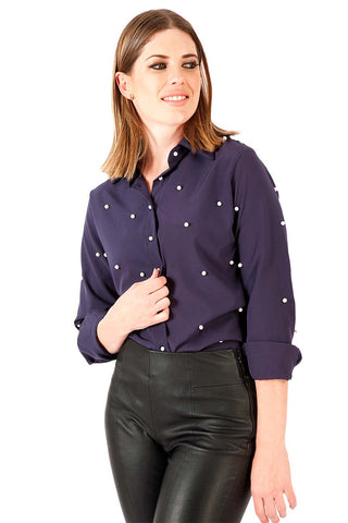 Blusa Pursuit of Pearls