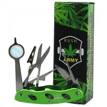 KUSH ARMY KNIFE - THE CANNABIS TOOLKIT