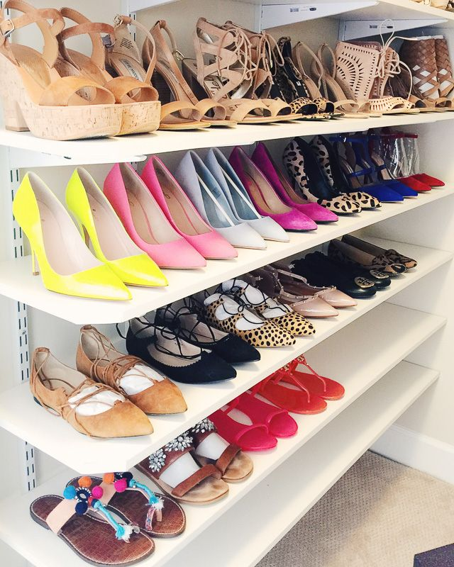 Organizing Your Wardrobe Around Your Shoe Collection