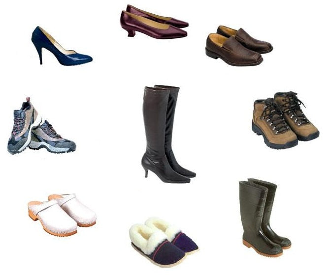 Body Types And Fashion (Shoe) Choices