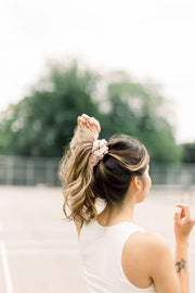Active+Swim Nude Scrunchie - petite | hair accessories for all hair types, nude scrunchies, waterproof scrunchies