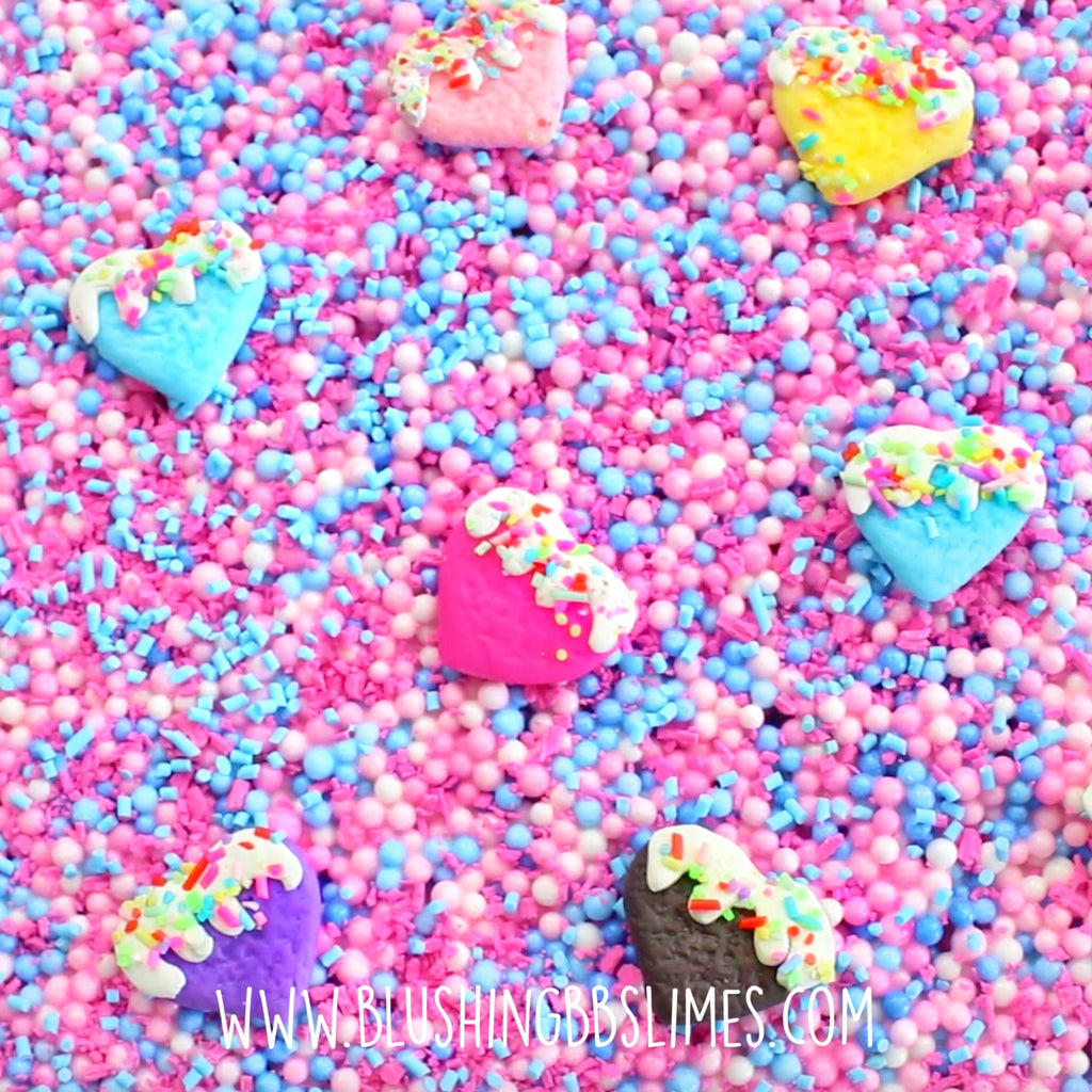 Cotton Candy Cookie Bar [Half-Floam w/ Lt Yellow Base]
