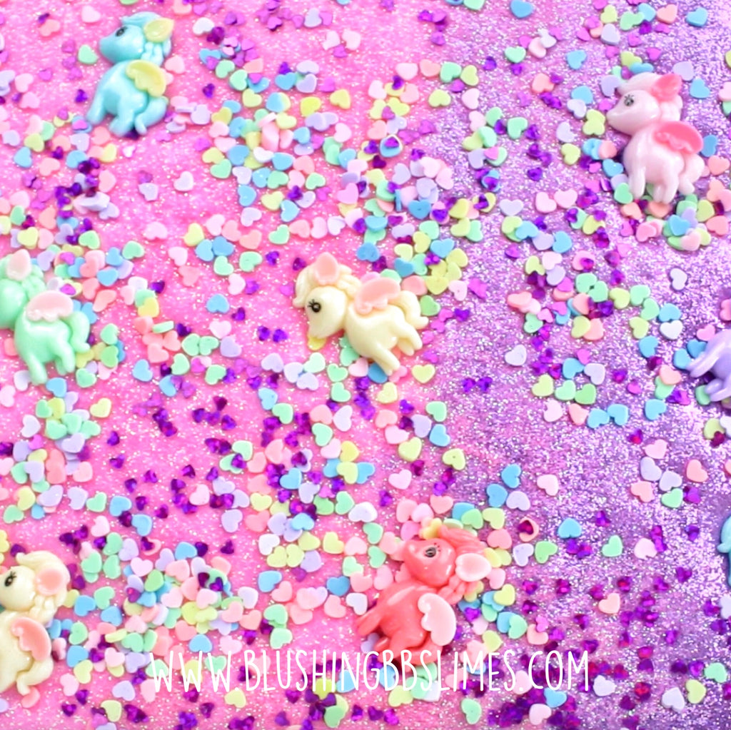Sizzle Puff: Unicorn Heaven [Pink Base]
