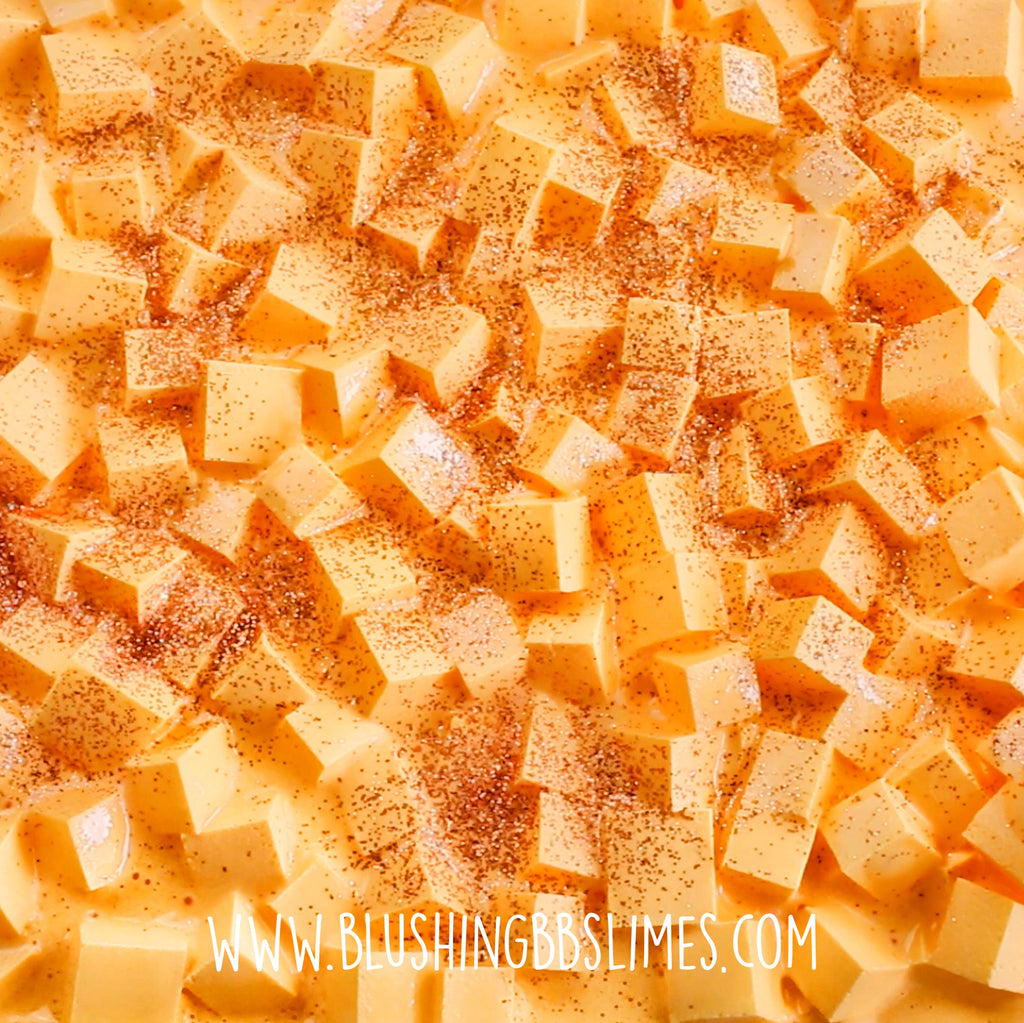 Pumpkin Pie Cubes