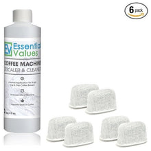 Brewer Care Kit - Keurig Descaling Solution Coffee Machine Descaler and Cleaner with BONUS 6 Filters for Keurig