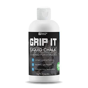 Liquid Chalk (1.69 OZ + 8 OZ), Pro Grade with Little to NO Mess, Dries Within Seconds