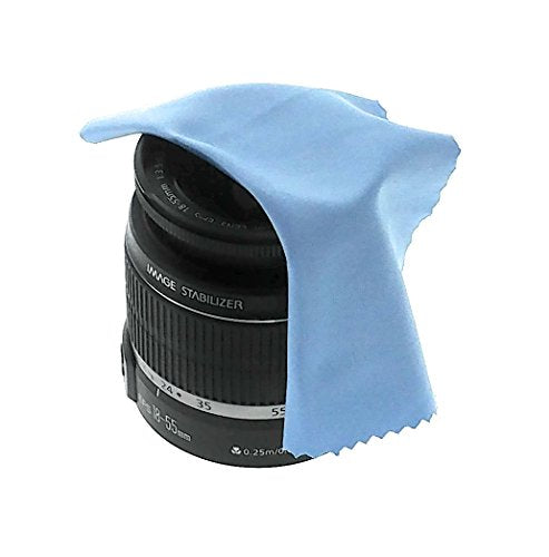 Microfiber Cleaning Cloth For Camera Lens: Microfiber Cleaning Cloth (2 Pack)