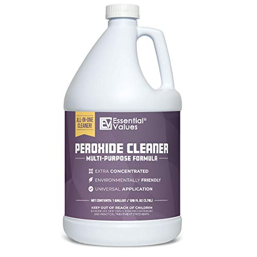 Essential Values Multi-Purpose Peroxide Cleaner (Gallon / 3.78 L) - Extra Concentrated with Citrus Fragrance