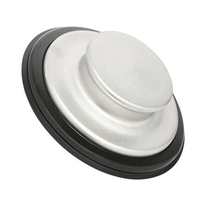 Sink Stopper, Brushed/Stainless Steel Kitchen Sink Garbage Disposal Drain Stopper, Fits Kohler, Insinkerator, Waste King