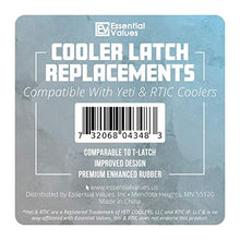 Essential Values 2 Pack Cooler Latch Replacements, Compatible with Yeti & RTIC