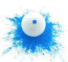 Gender Reveal Exploding Golf Balls (2 Balls) – Includes A Blue & Pink Colored Ball, Perfect For A Baby Reveal/Sex Reveal Party