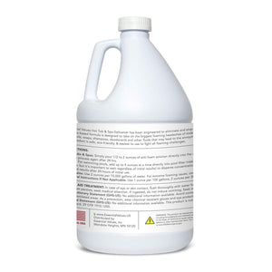 Essential Values Gallon Hot Tub, Pool & Spa Defoamer (Gallon / 128 Fl OZ) - Quickly Removes Foam Without The Use of Harsh Chemicals, Eco-Friendly & Safe with Silicone Emulsion Formula