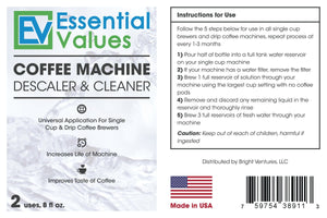 Espresso Machine Cleaning Tablets (30 Count) For Jura, Breville, Miele and others by Essential Values, Made in USA