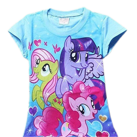 My Little Pony Print T Shirt