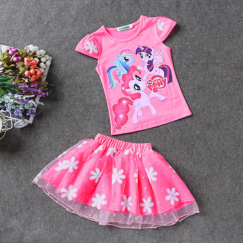 Girl's MLP T-Shirt and Tutu Set